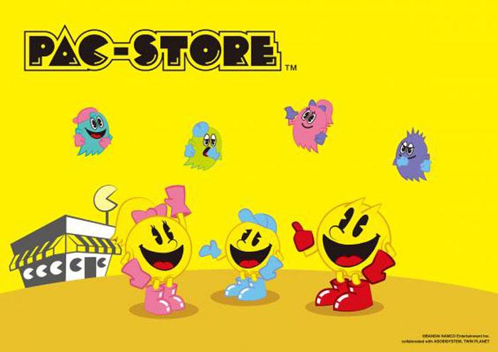 ワールドワイドでしかけるガールズのためのパックマンの新ブランド・PAC-STORE(パックストア)が本格始動!