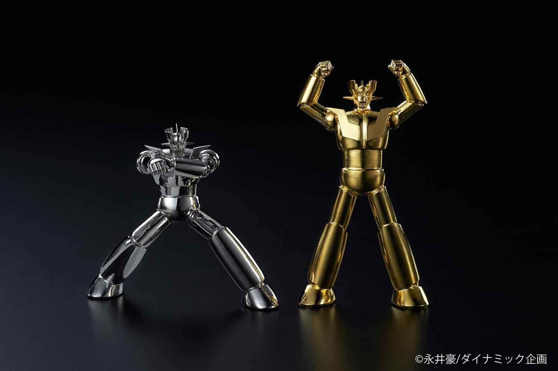 豪華絢爛!「黄金(ゴールド)」と「白金(プラチナ)」のマジンガーZ が揃い踏み !!