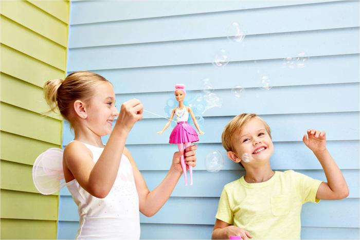 シャボン玉の泡につつまれたファンタジックな妖精バービー!「バービー バブルフェアリー」が発売