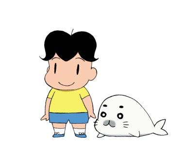『少年アシベ』のゴマちゃんと人気スイーツ店がコラボカフェをオープン!