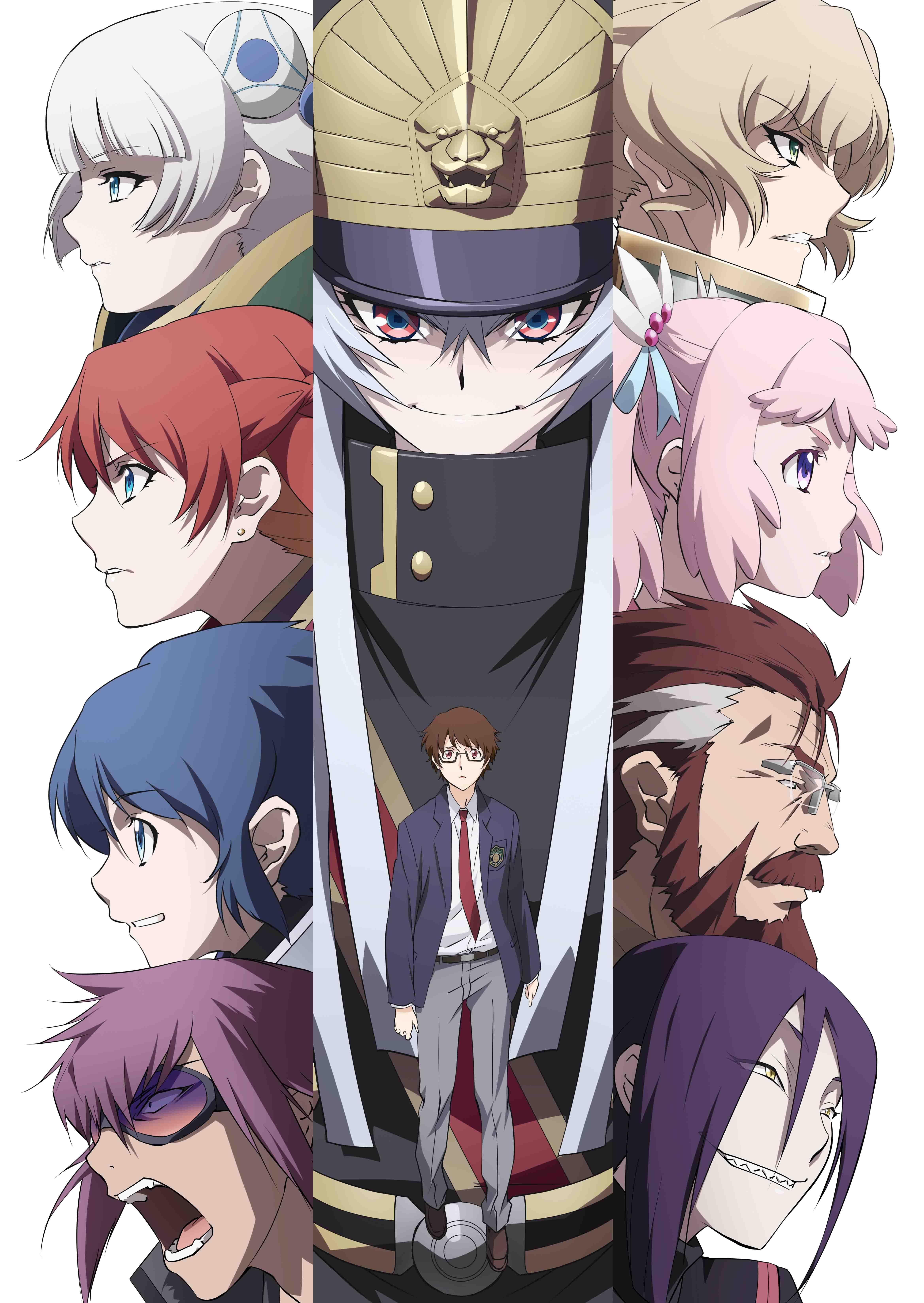 『BLACK LAGOON』広江礼威×『Fate/Zero』あおきえいによる完全新作オリジナルTVアニメーション『Re:CREATORS(レクリエイターズ)』新キービジュアル公開!