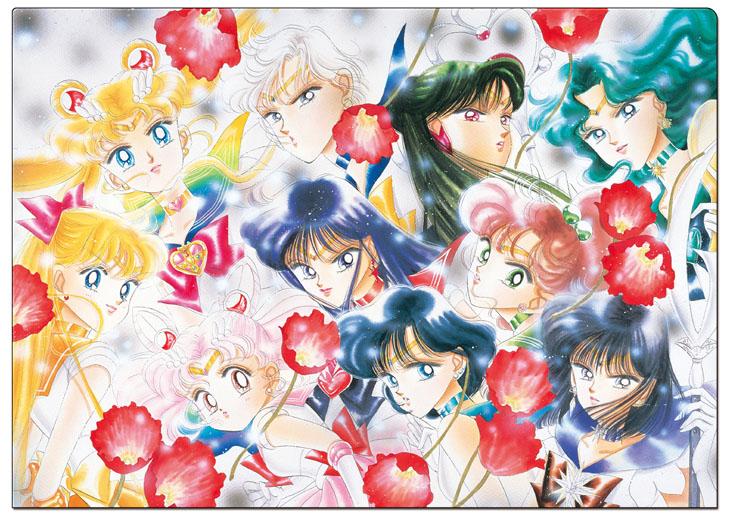『美少女戦士セーラームーン』25周年記念プレミアムフレーム切手セット申込受付開始