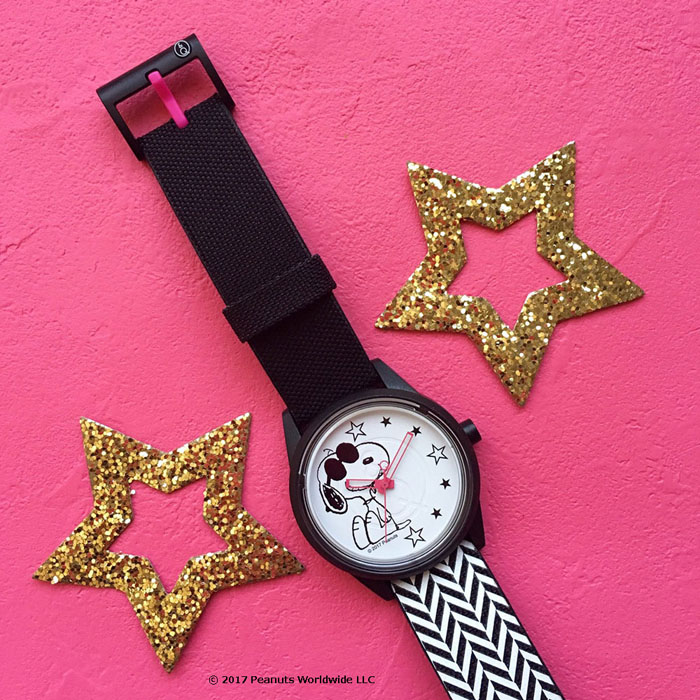 『スマイルソーラー』と『スヌーピー』コラボレーション腕時計を発売。