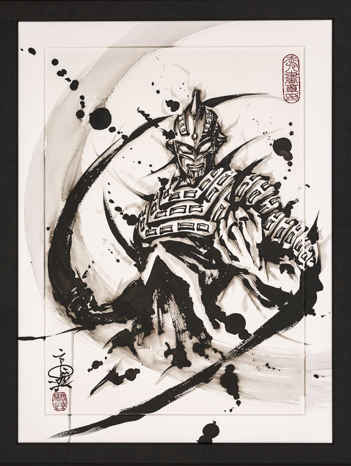 こうじょう雅之「武人画」×「ウルトラマンシリーズ」