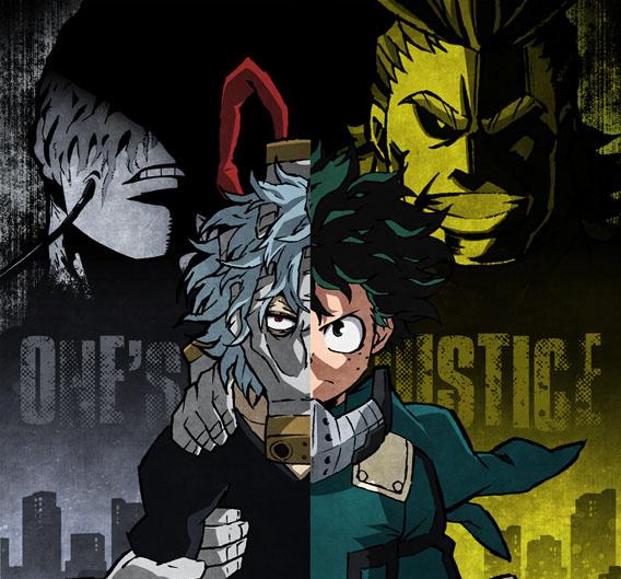 『僕のヒーローアカデミア One's Justice』発売決定