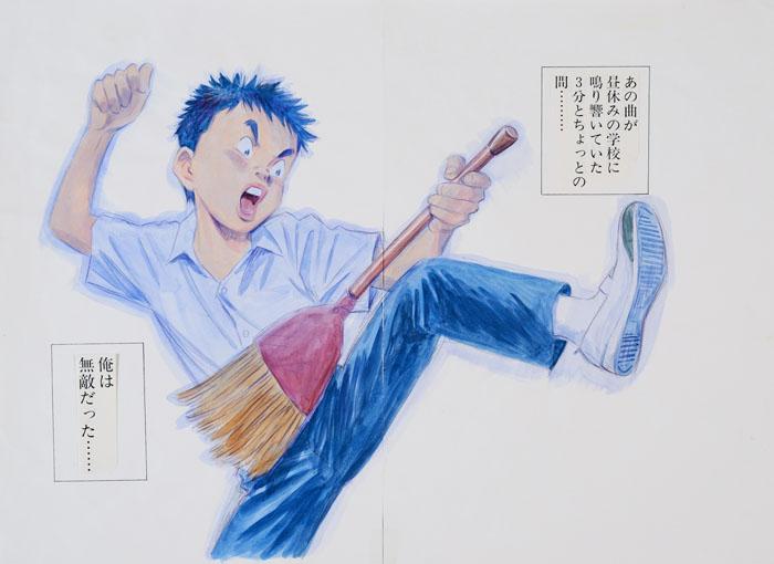 浦沢直樹展  描いて描いて描きまくる -山口の巻-