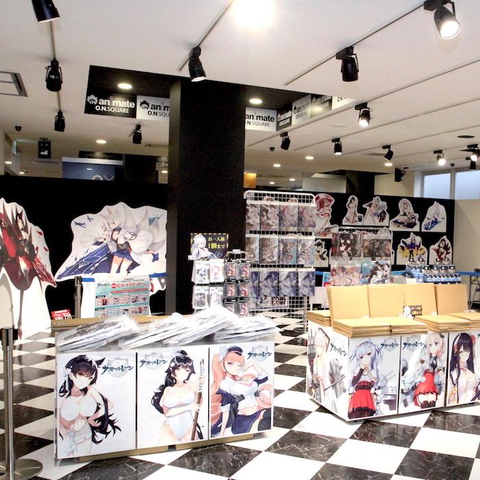 【取材レポ】アズレン一色の店内!ファン待望の「『アズールレーン』×animate Only Shop」が開催中!