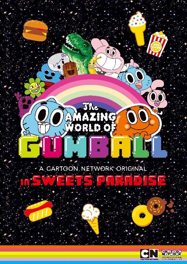 ハチャメチャワールドが炸裂!世界初「おかしなガムボール」の期間限定コラボレーションカフェ、オープン決定!