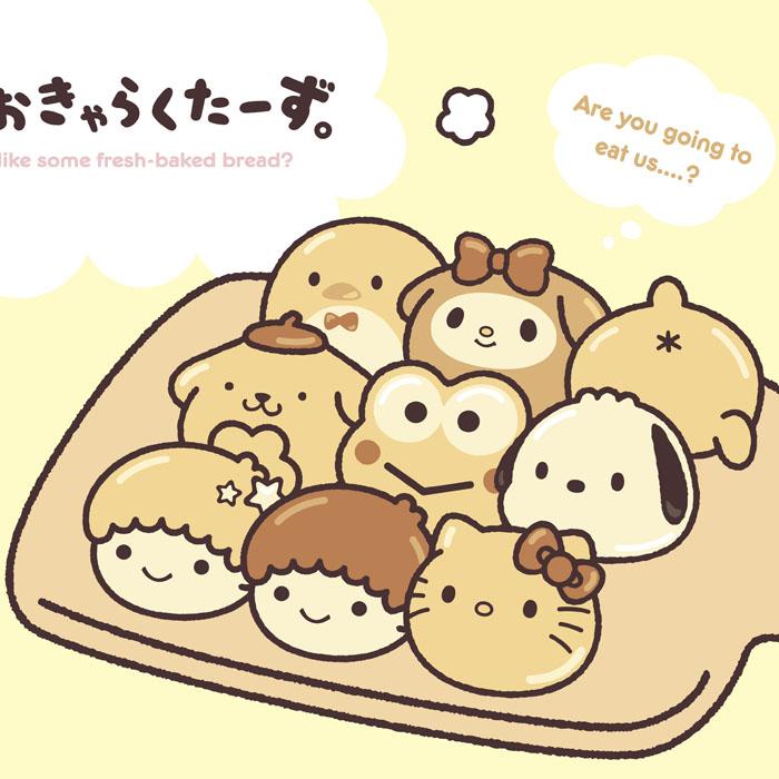 「サンリオキャラクターズちぎりパン風デザインシリーズ」発売!