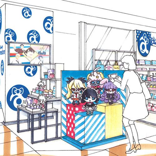 『Sanrio animestore』がなんばマルイにオープン!