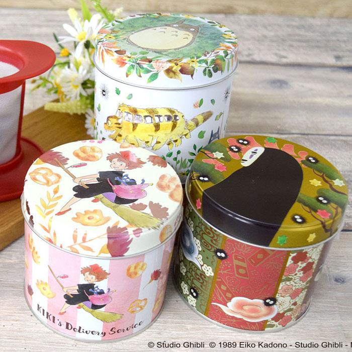 トトロやキキのデザイン缶入りオリジナルブレンド茶、「ルピシア」とコラボ第3弾が販売スタート!