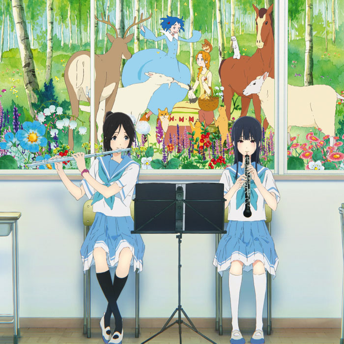 京都アニメーション最新作『リズと青い鳥』とのコラボレーションモデルを期間限定で予約販売