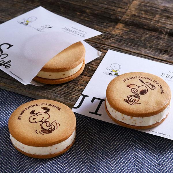数量限定!スヌーピーのアートが入った、アイスサンドクッキーが新登場!