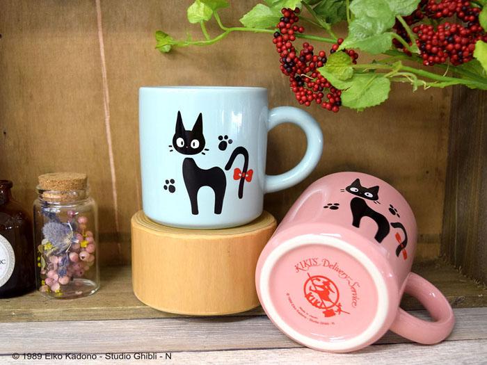 Closet限定新商品「魔女の宅急便」のジジのマグカップ発売