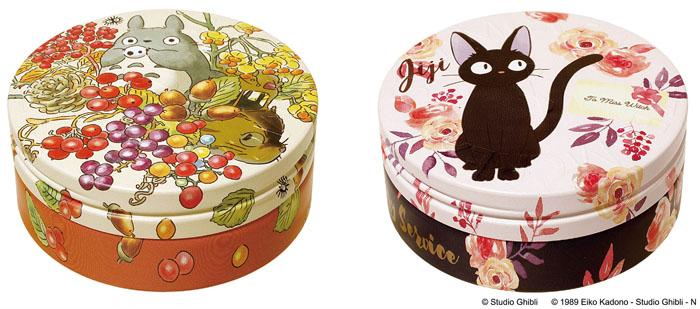 トトロとジジの秋らしいデザイン缶保湿クリーム 発売!