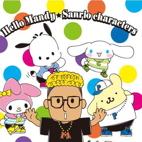 超話題の『Hello Mandy(ハローメンディー)』グッズ、ヴィレヴァン限定で発売決定ー!