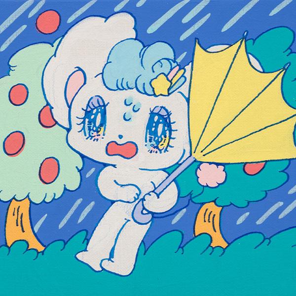 ペロペロ★スパ〜クルズの日常 Vol.5#台風が来た!!