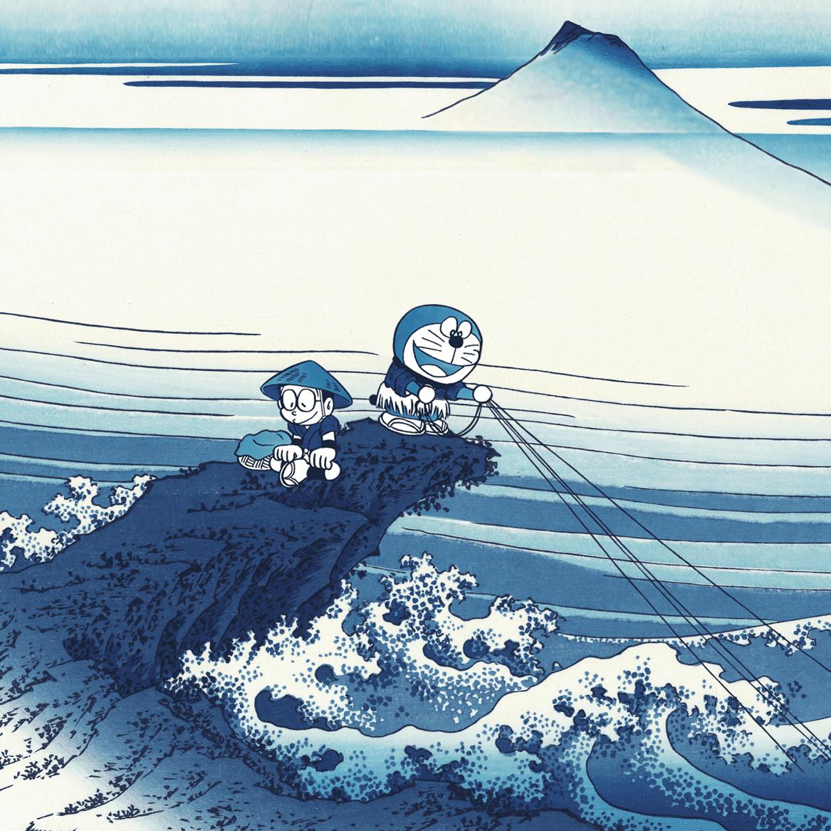 「ドラえもん」浮世絵シリーズ新作限定予約販売開始!
