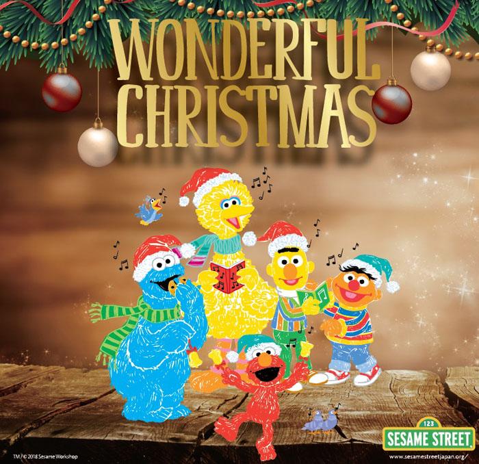 タワーレコードのクリスマスはセサミストリートとコラボ!