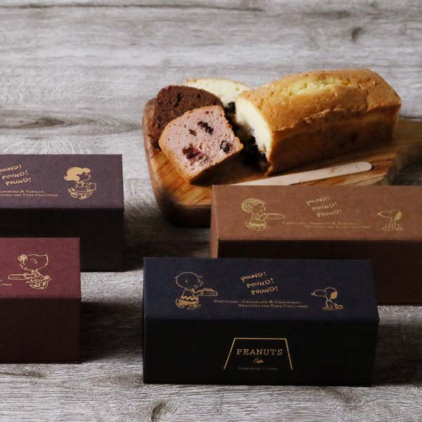「PEANUTS Cafe パウンドケーキ」が全店で発売!