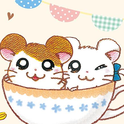 とっとこハム太郎20周年記念「ハム太郎カフェ」開催決定‼