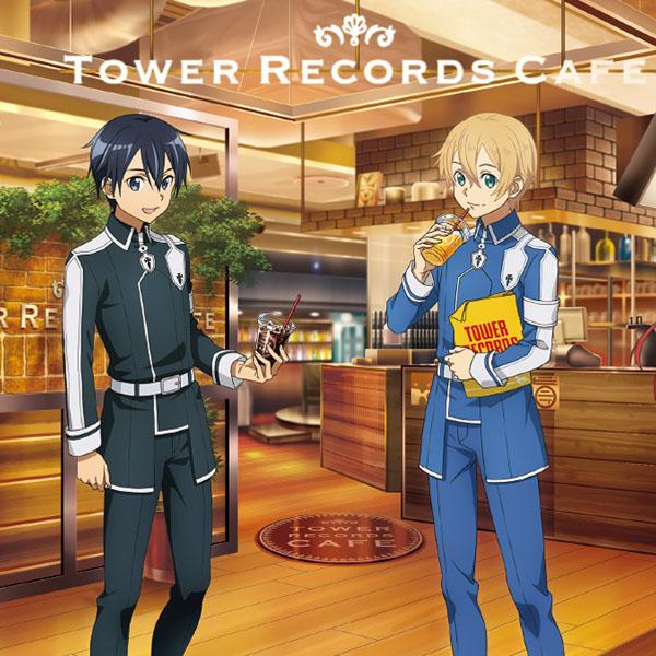 『ソードアート・オンライン アリシゼーション × TOWER RECORDS CAFE』