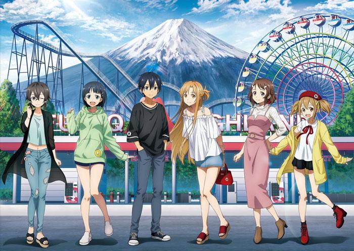 「ソードアート・オンライン アリシゼーション×富士急ハイランド」コラボ!
