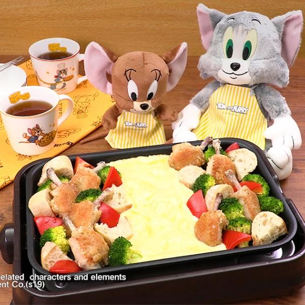 「DELISH KITCHEN」&「トムジェリ」がコラボ!「ジェリーに食べさせたいチーズ料理」レシピ動画配信中♪