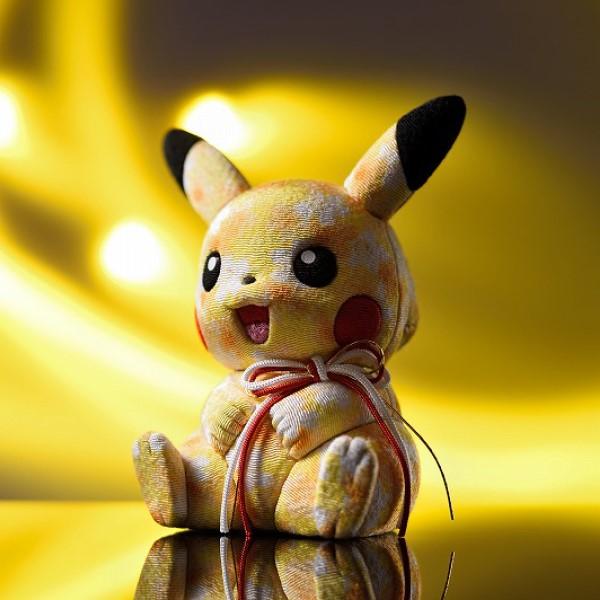 ピカチュウが270年続く伝統工芸品に!「江戸木目込み人形 ピカチュウ」誕生