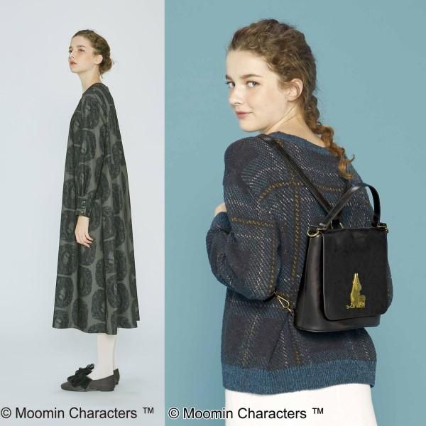 ゆるかわファッション「シロップ.」と「ムーミン」コラボの新アイテムが登場!