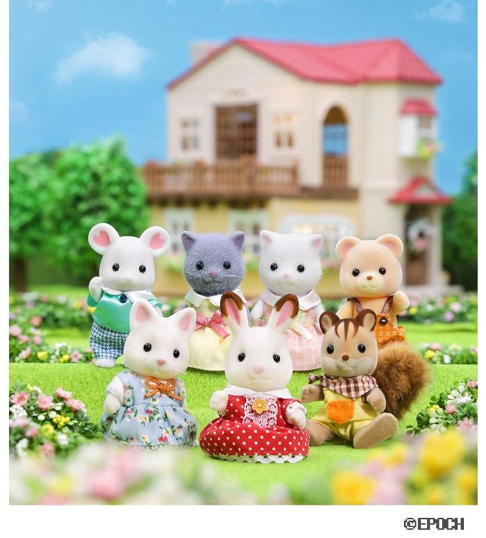 「シルバニアファミリー展」小田急新宿で開催!人形やお家が1000点以上大集合♪