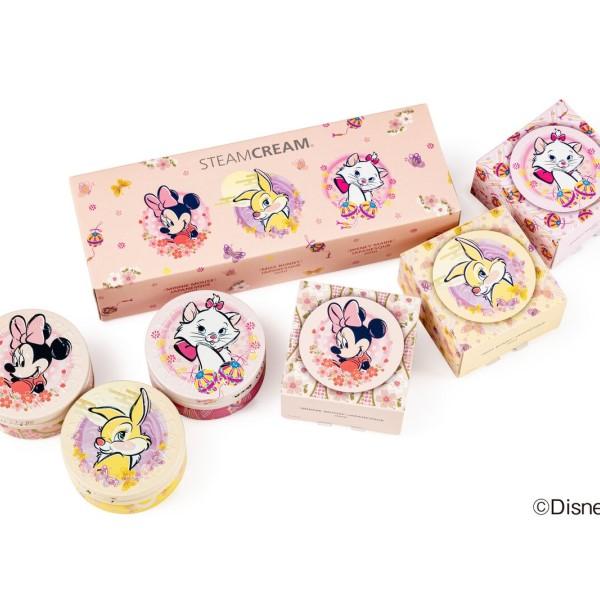 女子に人気のディズニーキャラが大集合!「スチームクリーム」mini缶セットが新発売