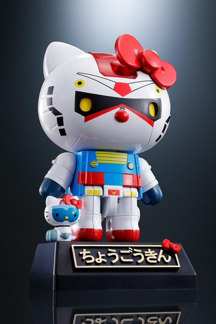 「キティ」×「ガンダム」コラボの「超合金」が発売決定!