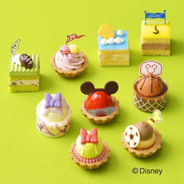 「ディズニー」スポーツデザインのプチケーキ詰め合わせがコージーコーナーに登場!
