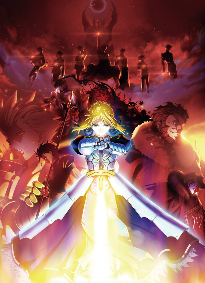 TVアニメ『Fate/Zero』Blu-ray Disc Box[通常版]&オリジナルサウンドトラックが9月20日に同時発売決定!