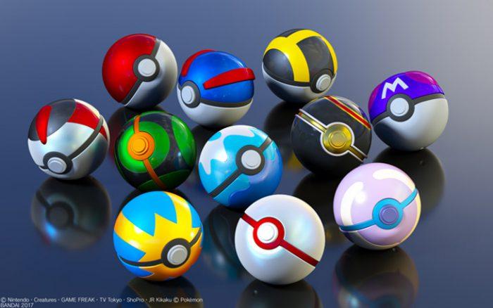 ポケモン捕獲用ボール、11種が立体化!