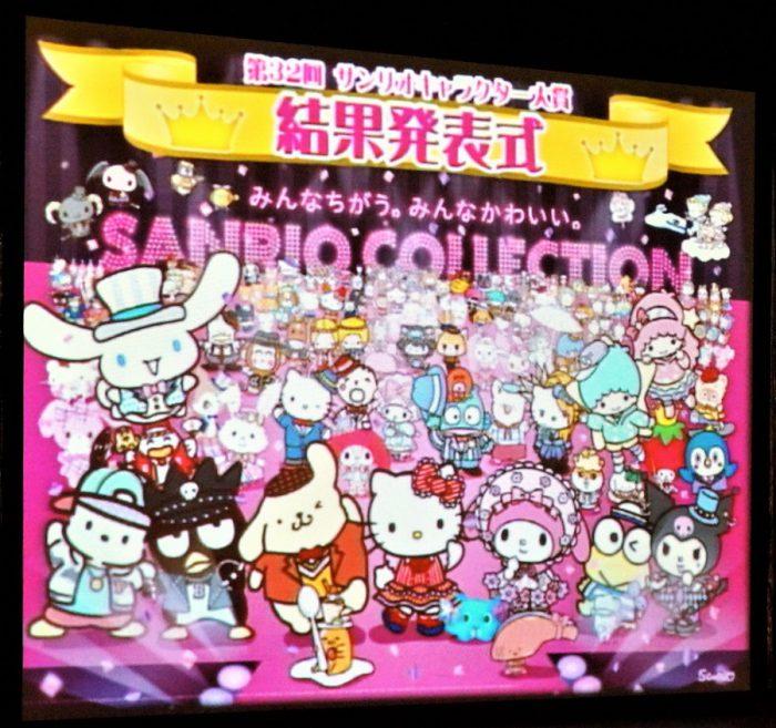 2017年サンリオキャラクター大賞 結果発表!