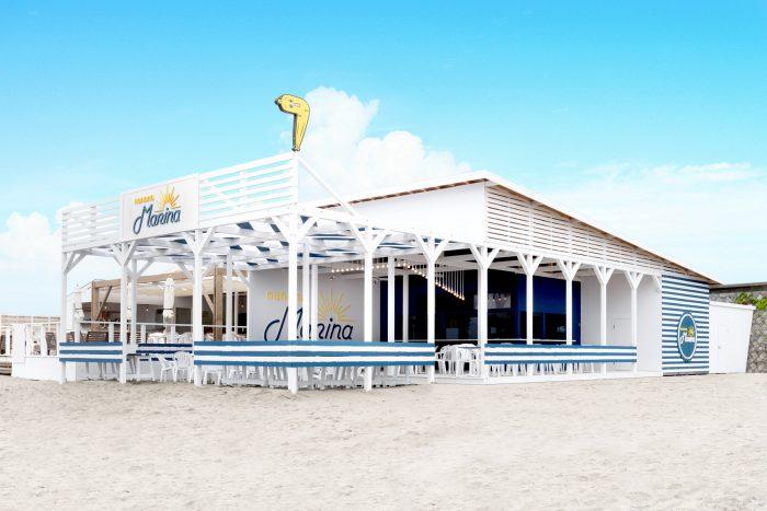 ナナナの海の家がオープン!