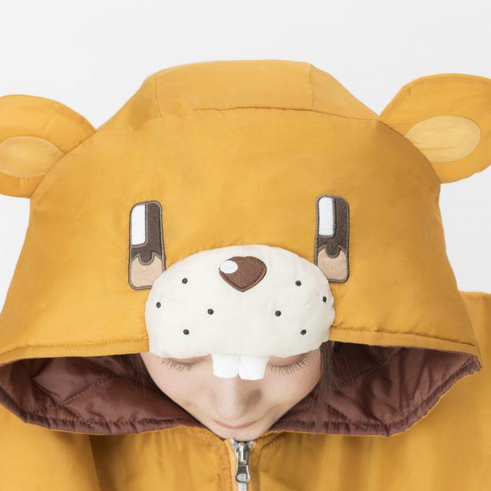 NEW GAME!!よりクマさん寝袋のルームウェア登場!