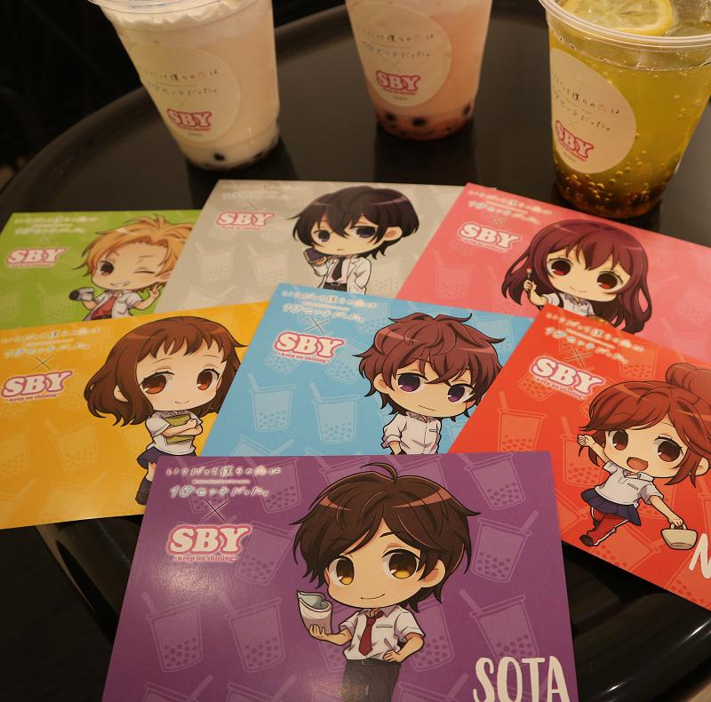 「いつだって僕らの恋は10センチだった。」×SBY SHIBUYA109店とのコラボカフェをレポート!