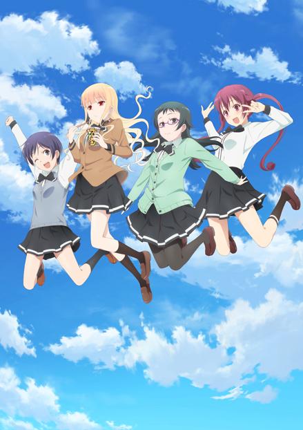 TVアニメ『ラーメン大好き小泉さん』1月より放送スタート!