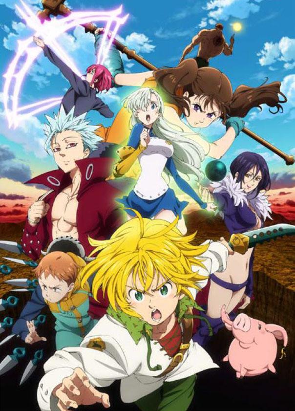 TVアニメ「七つの大罪 戒めの復活」第2弾PV公開&EDテーマはAnlyに決定!さらに外伝「バンデット・バン」放送も!