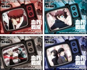 Newtype×TSUTAYA月替わりグッズ企画第5弾は、TVシリーズ完結記念「血界戦線 & BEYOND」!