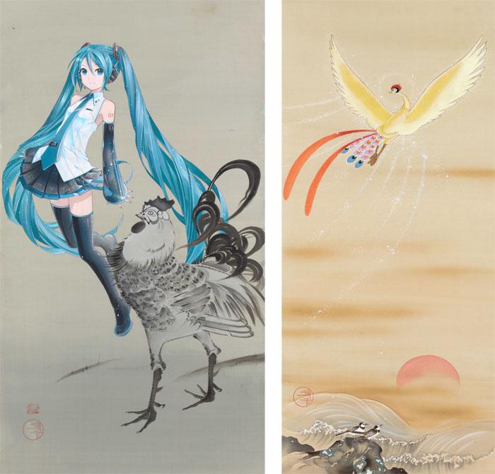 『ぼくらが日本を継いでいく』展が新宿高島屋にて開催