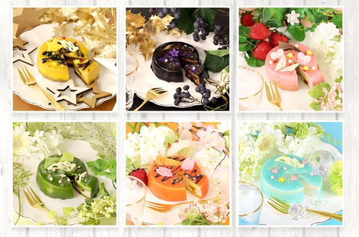 人気アニメ『ツキウタ。』に登場するアイドルのメンバーをイメージしたオリジナルケーキの発売が決定!