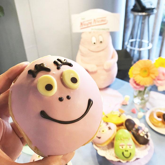 本日スタート!『バーバパパ』がドーナツに大変身!?人気絵本キャラクター『バーバパパ』とクリスピー・クリーム・ドーナツがコラボレーション!
