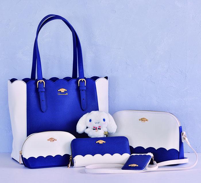 バースデーを記念し、「シナモロール」のファッション雑貨シリーズ発売!