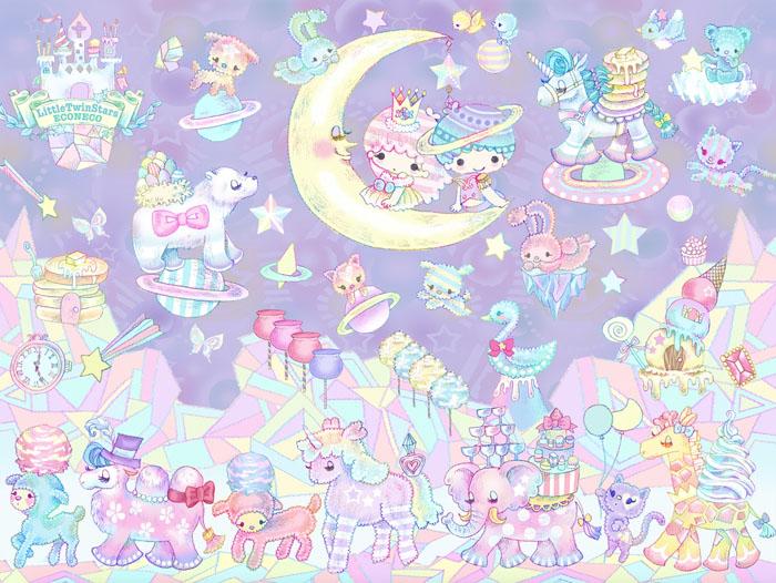 『LittleTwinStars』夢いっぱいのトリプルコラボジュエリーを伊勢丹新宿店にて先行発売!!