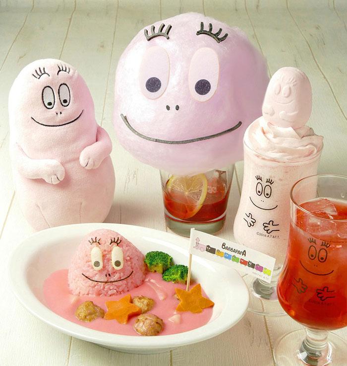 ピンクなメニューが勢ぞろい!人気絵本キャラクター『バーバパパ』のカフェがラゾーナ川崎プラザにオープン!