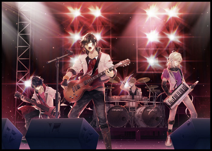 待望の最新作『イケメンライブ 恋の歌をキミに』、バンドビジュアルを2週連続で公開!